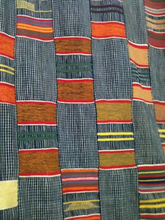 African textiles at the 26th st garage