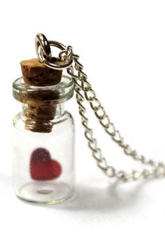 Bottled Love Necklace <3