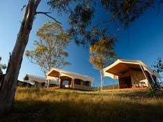 Add a touch of luxury to a camping trip and go glamping! Spicers Canopy, Scenic Rim #Brisbane