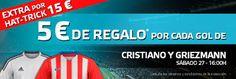 el forero jrvm y todos los bonos de deportes: suertia bonogol 40 euros Real Madrid vs Atlético 2...