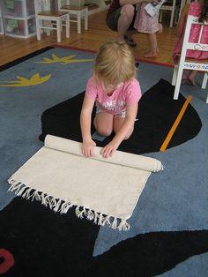 Grace & Courtesy - Rolling a mat