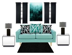 """""""Home sweet home"""" by frankie-king ❤ liked on Polyvore featuring interior, interiors, interior design, home, home decor, interior decorating, nuLOOM, Pillow Decor, Mitchell Gold + Bob Williams and Surya"""