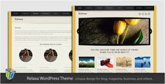 young but fresh looking wp premium theme