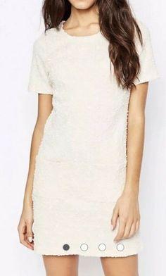 b9f1583e683a4 Maternity. Women's Clothing · (Advertisement)eBay- MELA LOVES LONDON SIZE  10 cream textured dress rrp £25