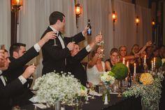 Toasting! Location- Winery Ballroom. Photo by Stephanie Susie Photography.