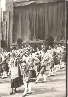 Vitber :: fotogrāfija, Dziesmu svētki, 1934 gads, 20-30tie g. 20 gs., 17 x 12 cm