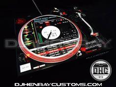 Dj Henray Customs - Technic 1200's For Life - serato wrap