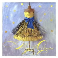 Yellow Dress ~ Aimee Wilson