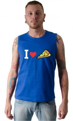 Dica #palcofashion #Camiseta - I love pizza #moda #fashion