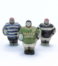 Potbelly SA Rugby Player Figurine forms part of the Potbelly Raku Collection. This ceramic figurine is handmade in South Africa.
