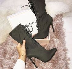 Shop sexy club dresses, jeans, shoes, bodysuits, skirts and more. High Heel Boots, Heeled Boots, Bootie Boots, Shoe Boots, High Heels, Dream Shoes, Crazy Shoes, Style Blogger, Wedding Shoes Heels