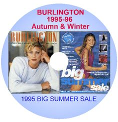 BURLINGTON 1995-96 AW BIG SUMMER SALE Mail Order Catalogues ON DVD PDF JPEG   eBay