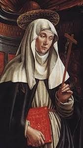 Like many female saints, Catherine of Siena had visions of the heavenly kingdom, but she was also influential in earthly ones. A consecrated virgin since the age of seven and a Dominican lay-affiliate at sixteen, Catherine began to see images of Christ, Heaven, Hell, and Purgatory in her late teens. Many medieval women were inspired by visions to withdraw from the world, but not Catherine. Her visions first told her to aid the sick and poor, and then to enter the political arena.