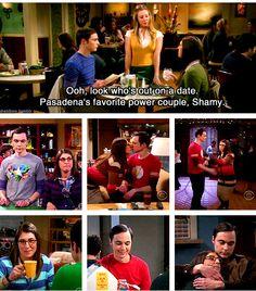 Pasadema's favorite power couple!!! SHAMY!!  big bang