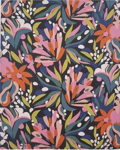 How beautiful is this floral pattern!! #surfacepatterndesign #textiledesign #botanicals