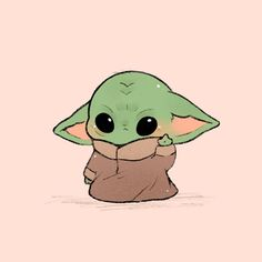 Baby Yoda Chibi Fan Art You are in the right place about christmas rustic Here we offer you the most beautiful pictures about the. Cute Cartoon Wallpapers, Animes Wallpapers, Cute Wallpaper Backgrounds, Wallpaper Iphone Cute, Cool Wallpaper, Chibi Wallpaper, Drawing Wallpaper, Cute Cartoon Drawings, Cute Disney Drawings