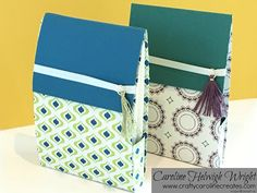 CraftyCarolineCreates: Note Cards Gift Set - Eastern Palace Week, Video Tutorial - New from Stampin' Up