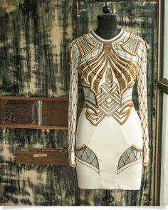 Sass and Bide artisan beaded dress. Sass And Bide, Fleur Design, Art Deco, Fabric Embellishment, All About Fashion, Playing Dress Up, Costume Design, Dress Me Up, High Fashion