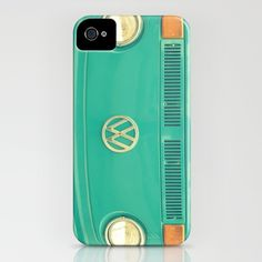 Groovy VW by RDelean  (available as iPhone / iPod cover, art print, stationery cards, or stretched canvas)
