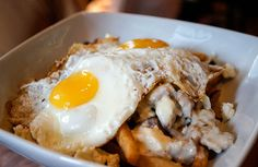 breakfast poutine at square peg in philly