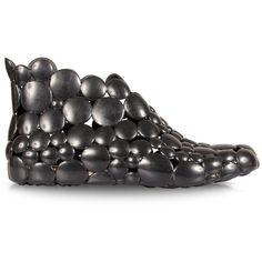 Melissa Gaetano Pesce Ankle Boot Black | GarmentQuarter