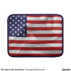 The Flag of the United States of America MacBook Sleeve