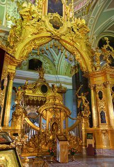 Cathédrale St Pierre St Paul - Saint Pétersbourg