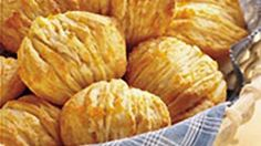 Relish these Pillsbury® Grands!® Jr. Golden Layers® Biscuits that are coated with orange and honey.