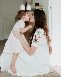 "1,334 Likes, 32 Comments -  Terra | Motherhood Blog (@loveandlarock) on Instagram: ""I haven't had to steal my kisses from her lately and it's really been warming my heart! On another…"""