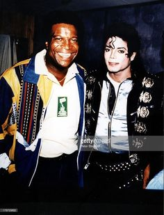 Michael with singer Roberto Blanco :)  | Curiosities and Facts about Michael Jackson ღ by ⊰@carlamartinsmj⊱