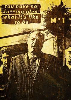 Alternative serie poster: The Sopranos, Tony Soprano