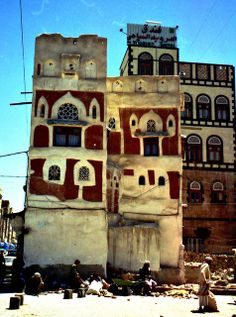 Old Buildings in the Old City, Sana'a, Yemen by David, via Flickr
