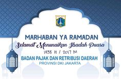 Marhaban ya Ramadhan !438 H