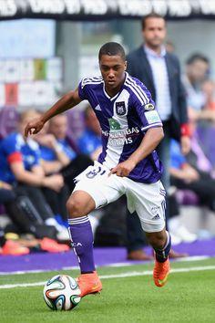 Youri Tielemans, del Anderlecht belga.