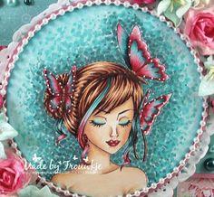 My passion for colors: Especially for you De digi is van Sweet Escape Digi's -Butterflies- Especially For You, Copics, Color Combos, I Card, Butterfly, Sweet, Outdoor Decor, Van, Passion