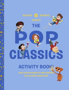Have fun with some of your favorite pop culture characters with the Pop Classics Activity Book! Librarians, Book Activities, Love Book, Summer Days, Doctor Who, Puzzles, Your Favorite, Pop Culture, Have Fun