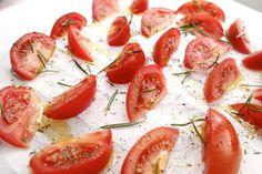 Ovengedroogde tomaatjes – ZELF MAKEN