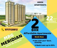 Affordable Housing's Lush Green Apartments Sector Dwarka Expressway, Gurgaon Price Starts from 22 Lacs* onward Book Now & Get Lacs* of Subsidy under PMAY Bank Loan up to Easy Location for Gurgaon & Delhi employers Call 9717128812 Green Apartment, Affordable Housing, Lush Green, Apartments, World, Easy, Books, Libros, Book