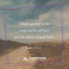 Through God, you can be fully satisfied.