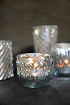 Silver Tea Light Holders - View All - Home Accessories