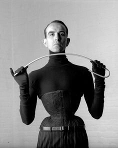 Who is Mr Pearl? Can a man wear A corset? Why would a man want to wear a corset? Where can you buy a corset from? Virginia Woolf, Ethel Granger, Mr Pearl, Stella Tennant, Tiny Waist, Small Waist, Lace Tights, Dita Von Teese, Waist Training
