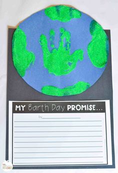 Earth Writing and Craft Freebie Earth Day Writing Craft Activity Free Printable. - uncategorized - Earth Writing and Craft Freebie Earth Day Writing Craft Activity Free Printable Update This ima - Earth Day Activities, Art Therapy Activities, Art Activities For Kids, Writing Activities, Preschool Activities, Art For Kids, Crafts For Kids, Writing Ideas, Earth Day Crafts