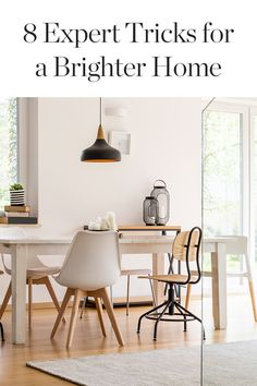 Interiors photographer Alyssa Rosenheck lets us in on her eight tricks for making a home appear lighter and brighter. — via @PureWow