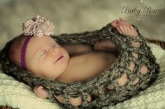 Baby Nest - Crochet Photo Prop. $18.00, via Etsy.