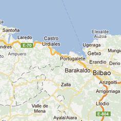 bilbao road map