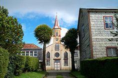 Iglesia de Ancud. Chile.
