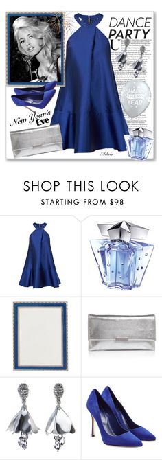 """""""Move Your Body"""" by ahapplet ❤ liked on Polyvore featuring Paper London, Thierry Mugler, Haffke, Loeffler Randall, Oscar de la Renta, Sergio Rossi, dance, New and ahapplet"""