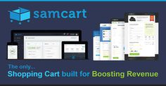 SamCart - The only ecommerce shopping cart built for boosting revenue. Create a 1-click upsell and sell more products to the same customers with ease. Works with Stripe, Authorize.net, MailChimp, and more...