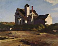 Edward Hopper - Coast Guard Station, 1927