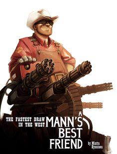 TF2 - A Mann's Best Friend by TheMinttu on deviantART